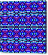Blue Turquoise And Purple Acrylic Print