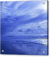 Blue Waterscape Acrylic Print