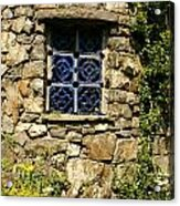 Blue Window Acrylic Print