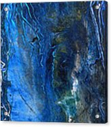 Blue Wonder Acrylic Print