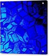 Blue Zinc Acrylic Print