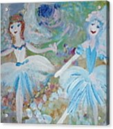 Blueberry Fairies Acrylic Print