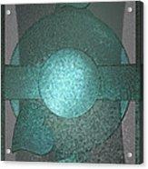 Bluecards Acrylic Print