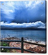 Bluer On The Other Side Acrylic Print