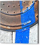 Bluer Sewer One Acrylic Print