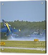 Blues Solo Takeoff Acrylic Print