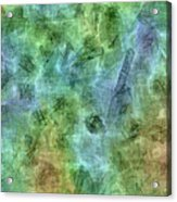Bluetone Abstract Acrylic Print