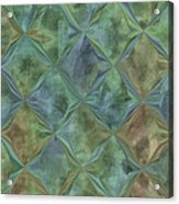 Bluetone Diamonds Acrylic Print