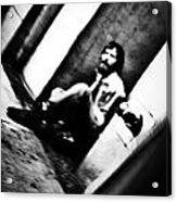 Blurred Time Acrylic Print