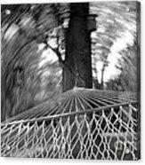 Blurry Still Acrylic Print by Scott Allison