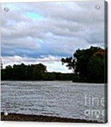 Blustery River  Acrylic Print