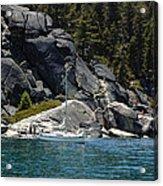 Boat A Rockin Acrylic Print