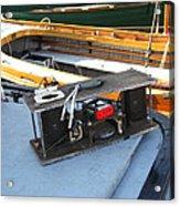 Boat Builders Music Box Acrylic Print