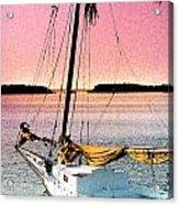 Boat Close Acrylic Print