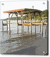 Boat Dock Acrylic Print