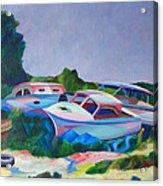 Boat Dreams Acrylic Print