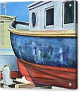 Boat Hull Acrylic Print
