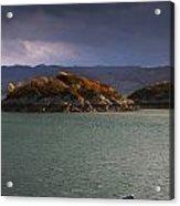 Boat On Loch Sunart, Scotland Acrylic Print