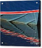 Boat Reflection 2 Acrylic Print