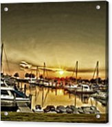Boaters' Delight Acrylic Print