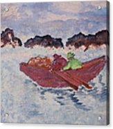 Boatmen Acrylic Print