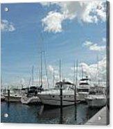 Boats 114 Acrylic Print