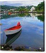 Boats-castries Harbor- St Lucia Acrylic Print