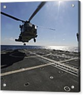 Boatswains Mate Signals The Pilots Acrylic Print