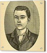 Bob Ford, The Assassin Of Jesse James Acrylic Print