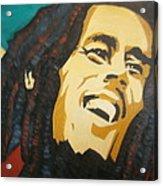 Bob Marley-amazing Story Acrylic Print