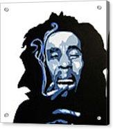 Bob Marley Acrylic Print by Michael Ringwalt
