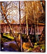 Bob White Covered Bridge Acrylic Print