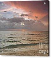 Boca Grande Florida Sunset Acrylic Print