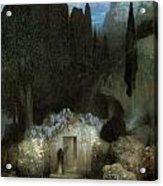 Bocklin's Tomb Acrylic Print