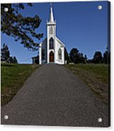 Bodega Church Acrylic Print by Garry Gay