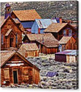 Bodie Ghost Town California Acrylic Print