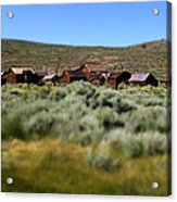 Bodie Ghost Town Landscape Acrylic Print