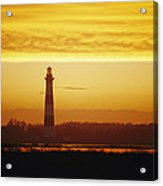 Bodie Island Lighthouse, Oregon Inlet Acrylic Print
