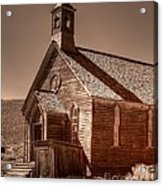 Bodie State Historic Park California Church Acrylic Print
