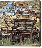 Bodie Wagon Acrylic Print