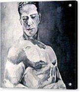 Body Building Acrylic Print