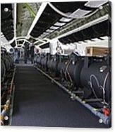 Boeing 747-8 Interior Acrylic Print