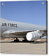 Boeing Yal-1a Airborne Laser Testbed Davis-monthan Afb April 15 2012 Acrylic Print