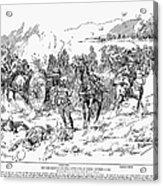 Boer War, 1899 Acrylic Print