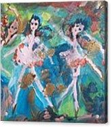 Bog Fairies Acrylic Print