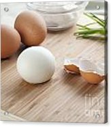 Boiled Eggs Acrylic Print