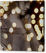 Bokeh Angel Acrylic Print