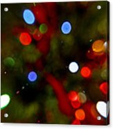 Bokeh Of Lights Acrylic Print
