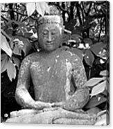 Bold Buddah Acrylic Print
