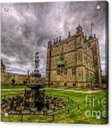Bolsover Castle And Garden Acrylic Print